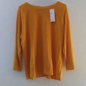 Eileen Fisher Mango Linen Jersey Sz XL